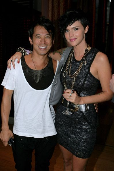 Ruby Rose Photos Photos - Bowie Wong and Ruby Rose  attend the 2009 Mardi Gras VIP party at the Zeta Bar of the Hilton Hotel on March 5, 2009 in Sydney, Australia.  (Photo by Mike Flokis/Getty Images) * Local Caption * Bowie Wong;Ruby Rose - 2009 Mardi Gras VIP Party