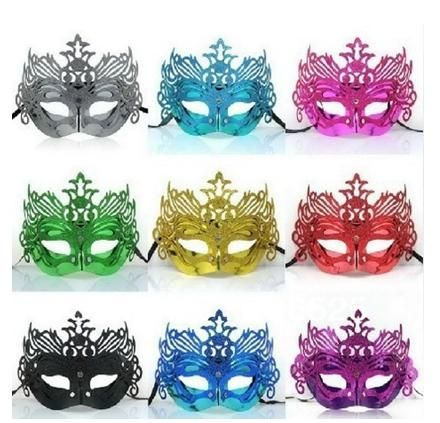 plain white masks, plain white masquerade masks and plastic masquerade masks are wholesaled here. All the products are frees shipping from China. 36pcs!halloween masquerade party mask / crown venetian christmas half face mask / flower slice mask/7color choice which provided by eyeswellsummer can be discount.
