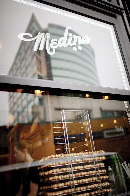 Local city guide—Vancouver. Yaletown: Medina Cafe. (What we love: lavender lattes and Le Santé breakfast).