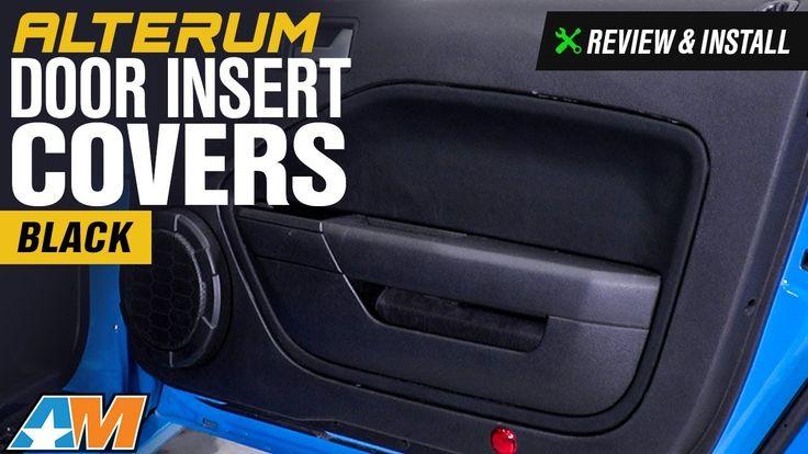 2005-2009 Mustang Alterum Door Insert Covers Review & Install