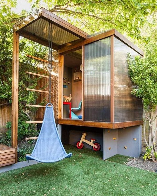 23 Awesome Kids Garden Ideas With Outdoor Play Areas – Anna-Fee Bongaerts