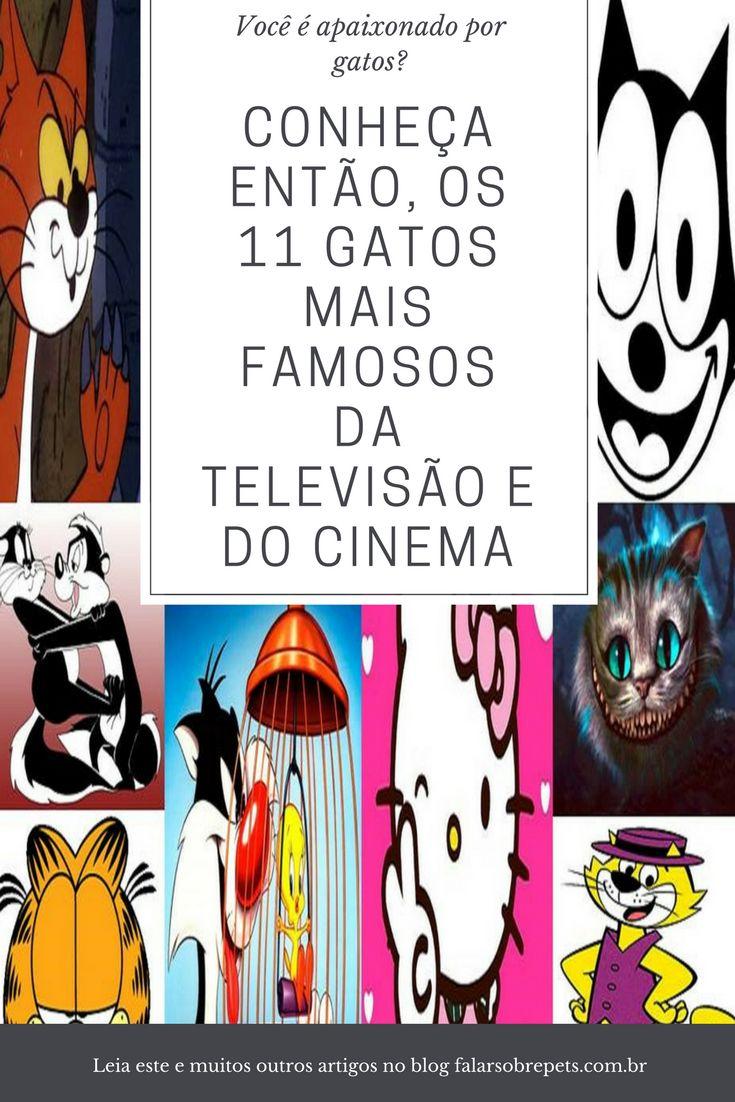 Gatos! Conheça os 11 gatos mais famosos da tv e do cinema.