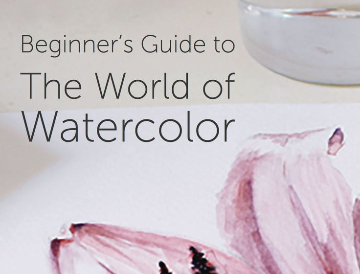 watercolor for beginners - talks about some famous watercolour artists in history