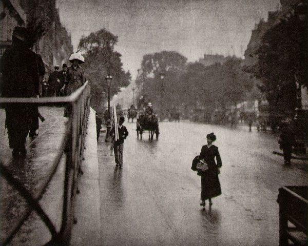 Alfred Stieglitz Snapshot, Paris 1911