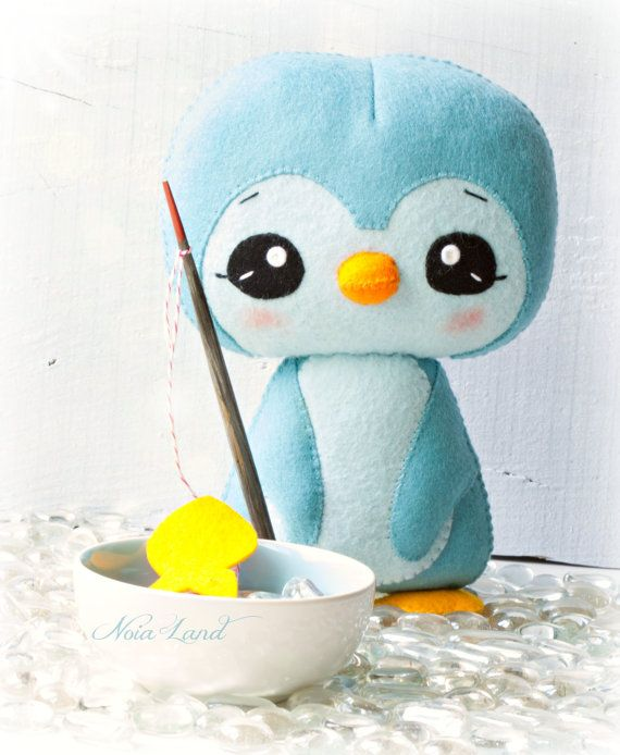 Pingüino. Patrón PDF por Noialand en Etsy