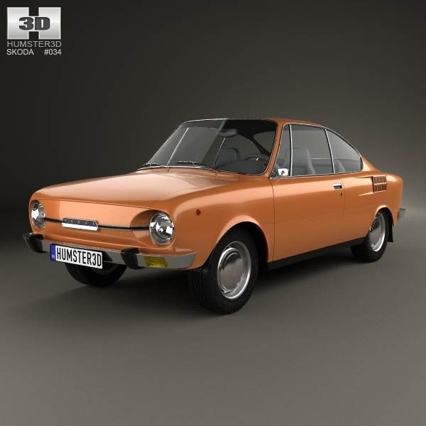 Skoda 110 R 1970 3d model from humster3d.com. Price: $75