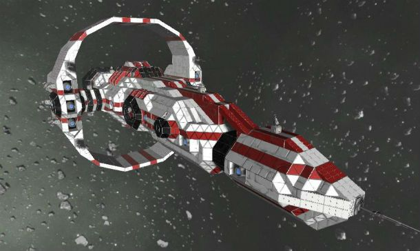 Antaris Cruiser – Space Engineers
