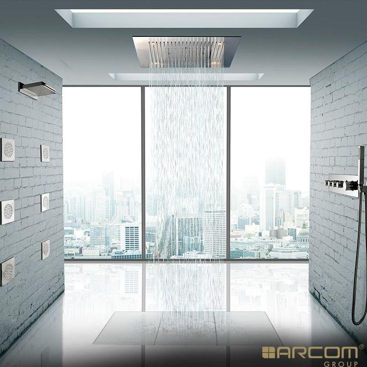 Cool Rain Shower For Big Bathroom