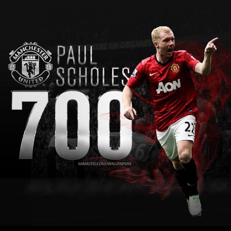 Paul Scholes. A United legend...