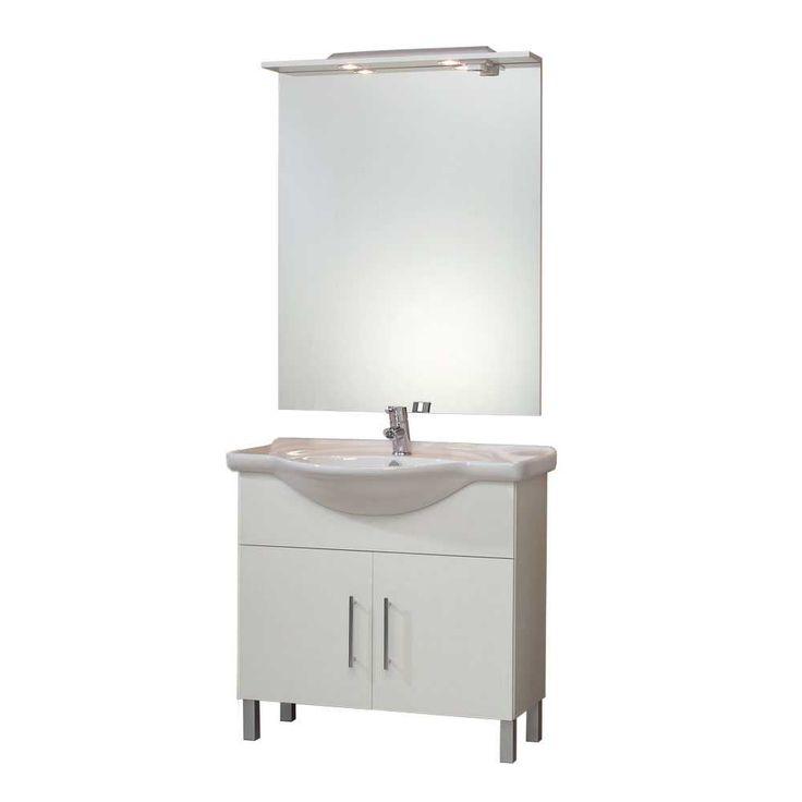 Badezimmer Set In Weiß Waschbecken (2 Teilig) Jetzt Bestellen Unter: ...