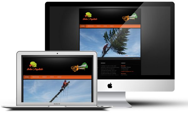 Arbo Capitale offre des services arboricoles en partenariat avec Emondage J. Demers. Les deux entreprises désiraient mettre en place un site Web afin de présenter leurs réalisations et leurs services.