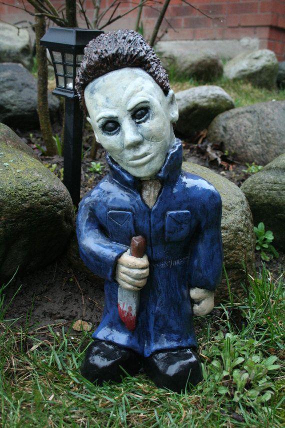 The Babysitter Killer Halloween Horror Gnome by RevenantFX on Etsy, $60.00