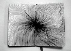 Vasilj Godzh - Mesmerising Line Work   Rotring pens, Illustrators ...