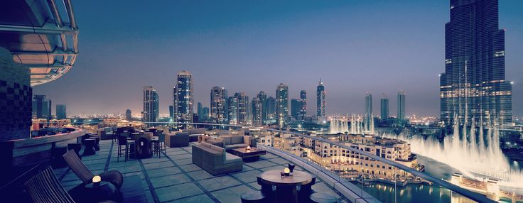 Dubai Fountain (different perspective)