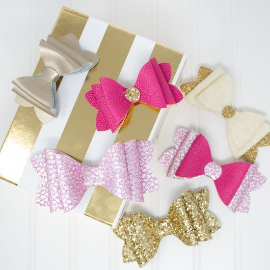 French Stack Hair Bow Tutorial