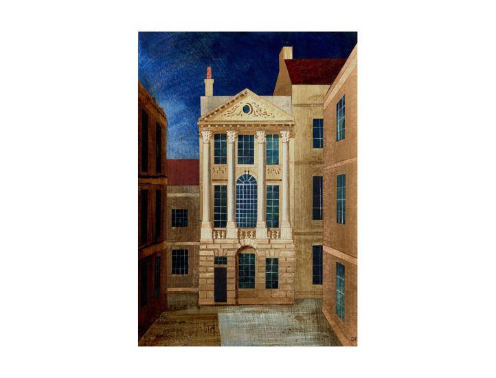 """Ralph Allen's Townhouse"" by Ed Kluz"