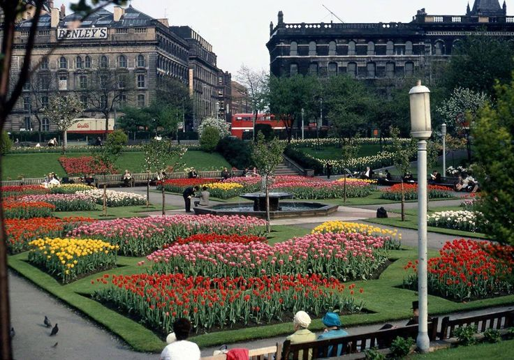 Manchester Piccadilly Gardens 1960