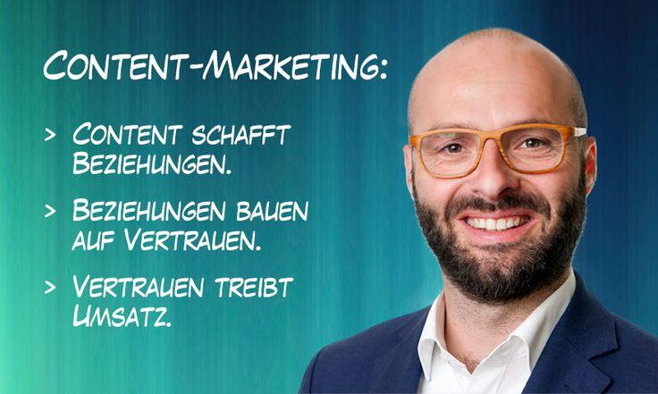 Dialog- und Online-Marketing als fließendes Markenerlebnis  Content-Marketing: Wie man anstelle von Push-Kommunikation Kunden mit eigenen Inhalten ein fließendes Markenerlebnis schaffen kann.