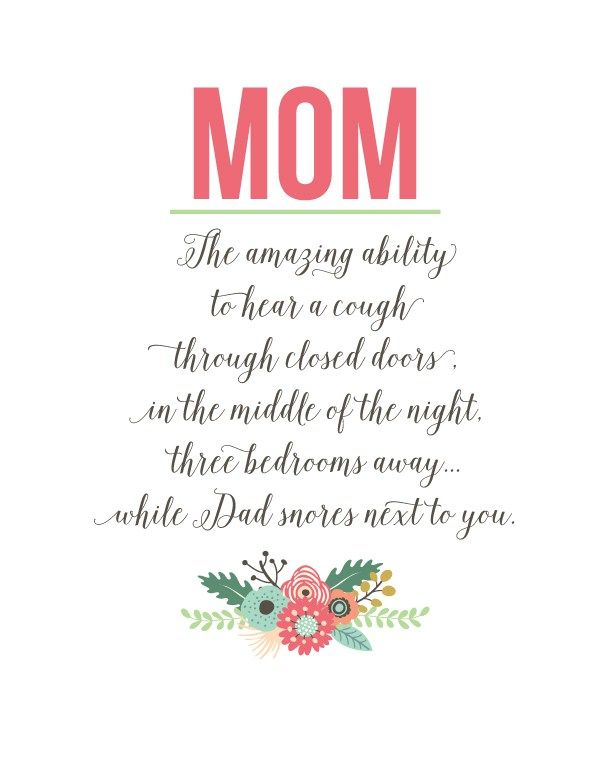 Free Mother's Day Printables Your Mom Will LOVE! Mom