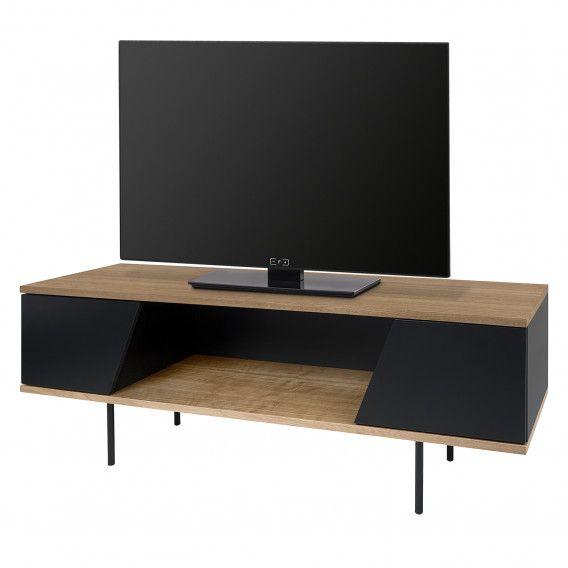 Meuble Tv Tallberg Noyer Noir Mat In 2020 Home Decor