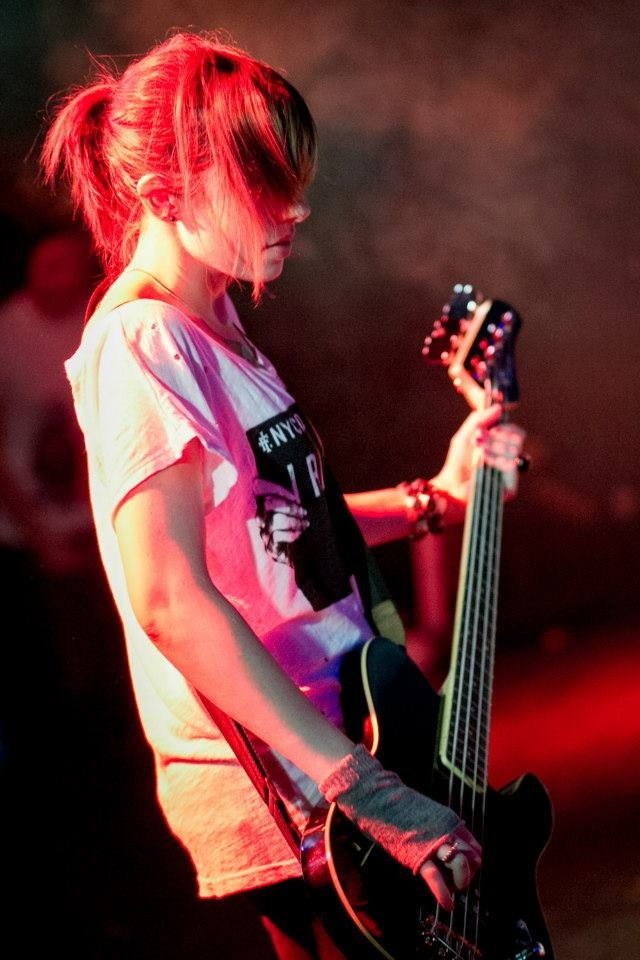 Arany Dóra  (Bassist in The Grenma)