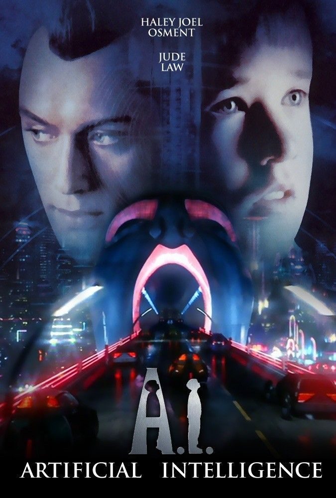 A I Artificial Intelligence 2001 Haley Joel Osment Artificial Intelligence Movie Artificial Intelligence Ai Artificial Intelligence