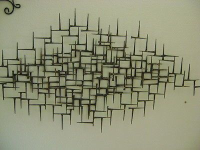 Vintage Metal Wall Art 105 best mid century wall art decor images on pinterest | wall art