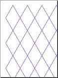 Diamond Trapezoid Graph Paper Preview
