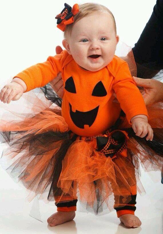 Las 25 mejores ideas sobre disfraz de calabaza de beb en - Disfraces bebe halloween ...