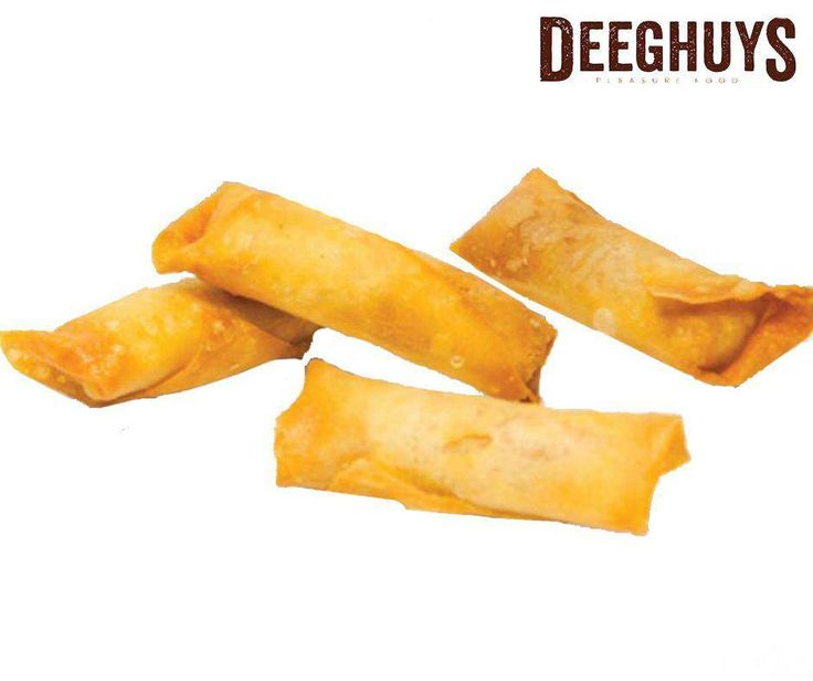 Pop in at #DeeghuysGeorge today for our delicious Mince Spring Rolls. Visit us at the #GardenRouteMall. #PleasureFood