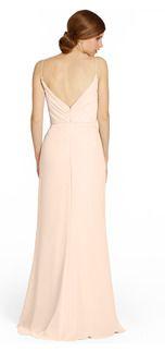 Jim Hjelm 5358 Crinkle Chiffon Bridesmaid Dress | Weddington Way