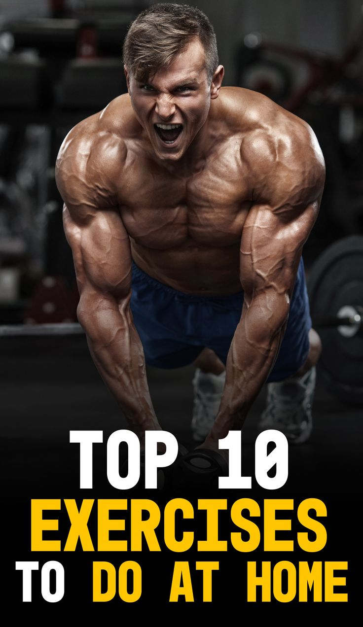 Top 10 Exercises to do at Home