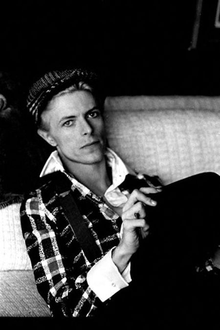 David Bowie - Happy birthay today Mr Bowie - all beautiful people are born in January