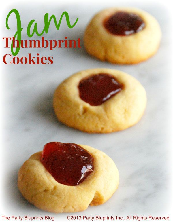 Jam Thumbprint Cookie Recipe