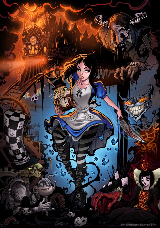 Alice Madness Returns by J Scott-Campbell