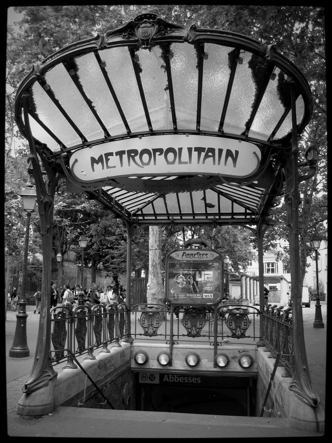 Paris Metropolitain by Christian Øen