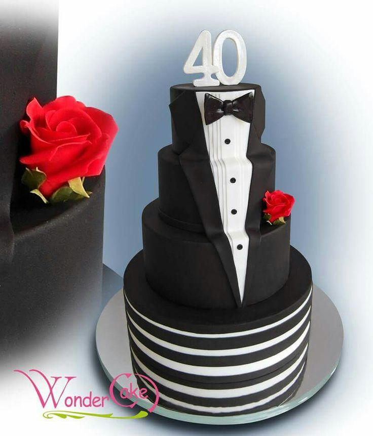 12 Besten Tuxedo Cake Bilder Auf Pinterest Fondant