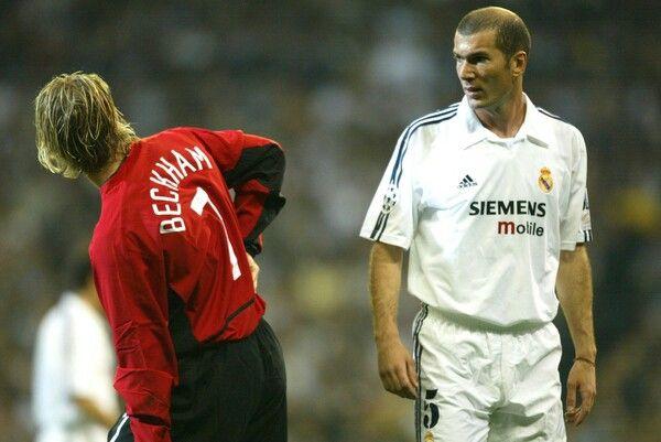 Beckham vs Zidane