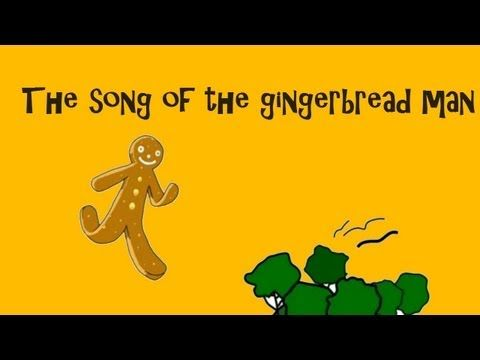 The gingerbread man A song for children - YouTube