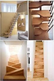 Resultado de imagen para escalera en espacio pequeño