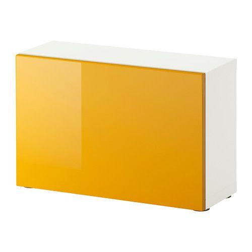 ikea best regal mit t r wei tofta hochglanz gelb bedroom pinterest living room. Black Bedroom Furniture Sets. Home Design Ideas
