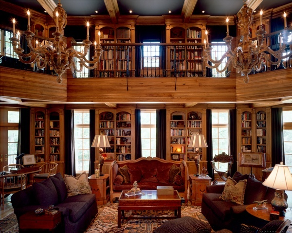 Inside Shot Of An Interior Designers Library That We Did