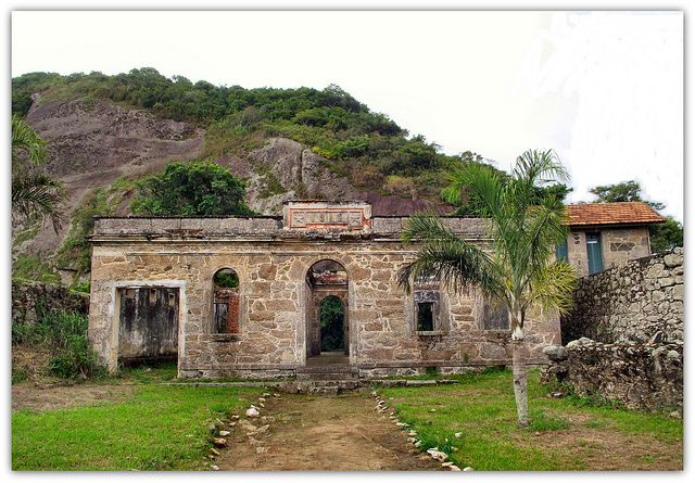 Ruins Rio Branco Fort, Itaocara