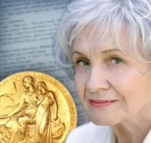 "Alice Munro - known for her ""spare and psychologically astute"" fiction, she revolutionized the short story and at 82 won a Nobel prize for literature."