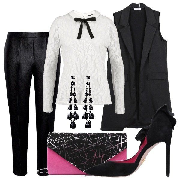 Outfit Notte mannish