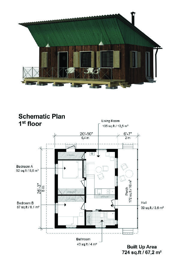 Forest Cabin Plans Small House Plans Cottage Plans Small Cabin Plans Cabin Plans Cottage Plan