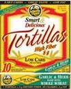 It's hard to eat low cal when it comes to tortilla.  I discovered the La Tortilla Factory Low Carb soft tortillas and they are delicious and only 50 calories.  Definitely a must try!