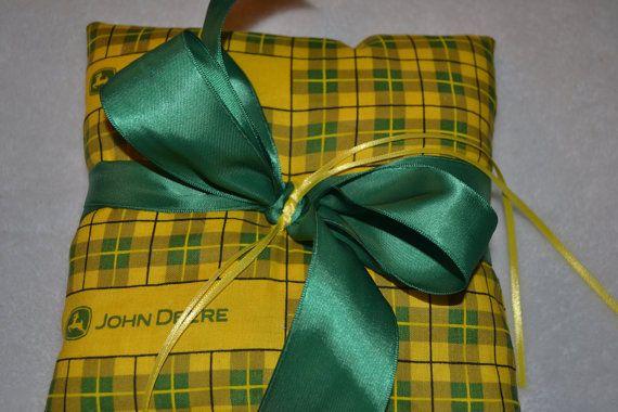 John Deere Ring Pillow by BridalBliss2000 on Etsy, $29.00