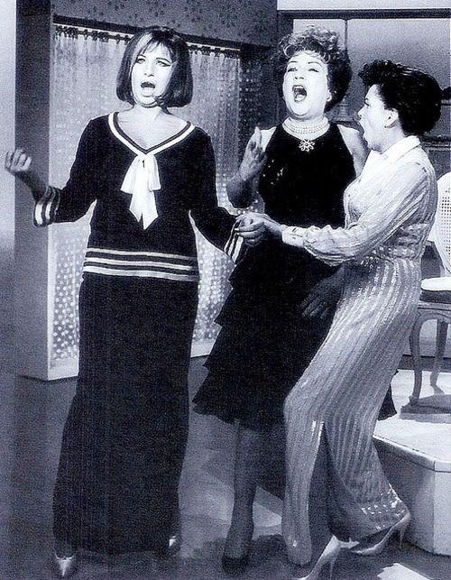 The Judy Garland Show (1963) Barbra Streisand, Ethel Merman! Some talented ladies!