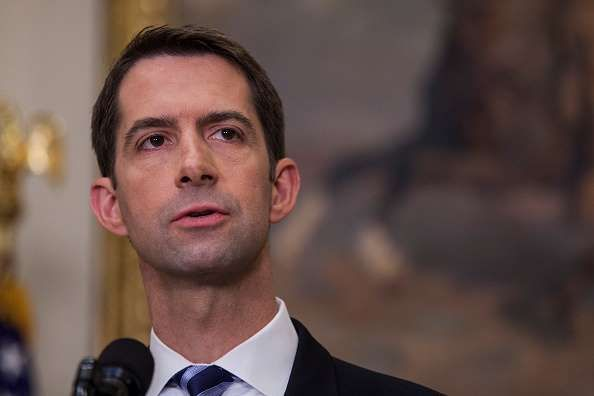 How Every Republican Senator Has Responded to the Roy Moore Scandal   -  November 14, 2017.  No comment about Roy Moore: Sens. Tom Cotton, Mike Crapo, Deb Fischer and John Kennedy.    Arkansas Sen. Tom Cotton (